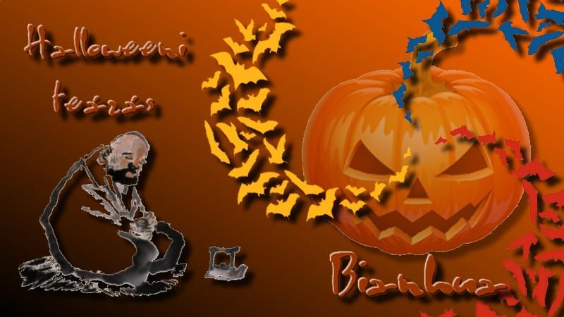 Bianhua Halloweeni Teázás